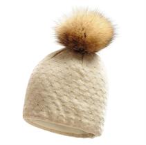 Show details for Imagine Beanie Real Fur pom