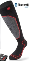 Picture of Lenz Heated Sock 1.0 only Black/Red